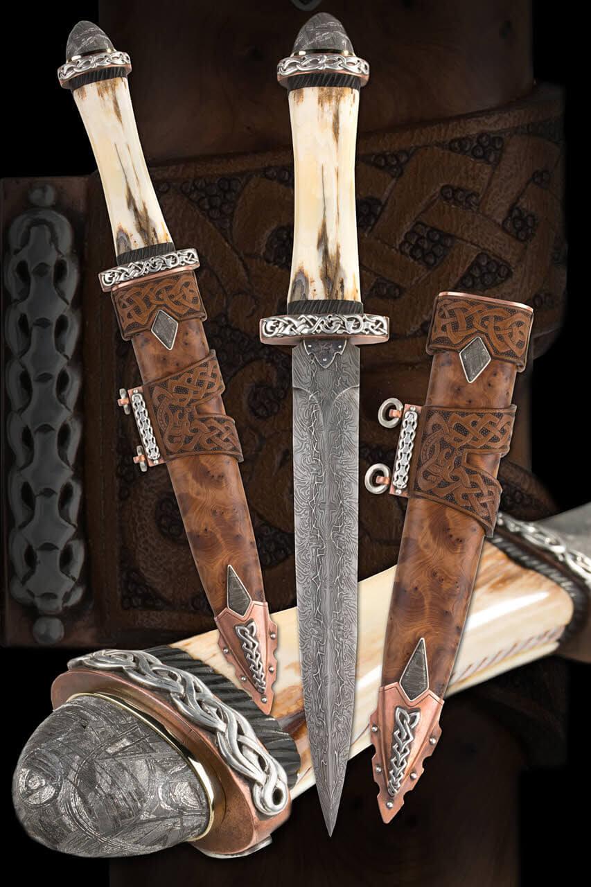 """Viking Dagger """"Odin's Helmet"""""""